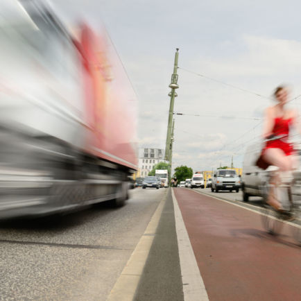 évolution du code de la route : piste cyclable et risque à vélo