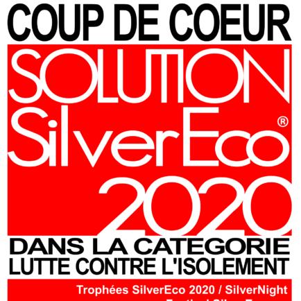 Coup de cœur des Trophées SilverEco 2020, catégorie lutte contre l'isolement