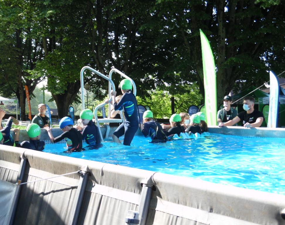 piscine triathlon enfant